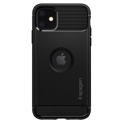SPIGEN RUGGED ARMOR IPHONE 11 MATTE BLACK