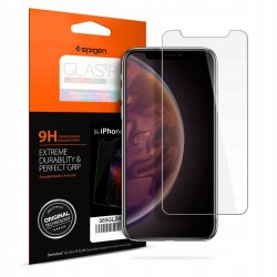 Spigen GLAS.tR Slim HD Tempered Glass (iPhone 11)
