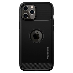 SPIGEN RUGGED ARMOR IPHONE 12 PRO MAX MATTE BLACK