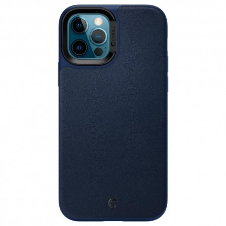 SPIGEN CIEL LEATHER BRICK IPHONE 12/12 PRO NAVY